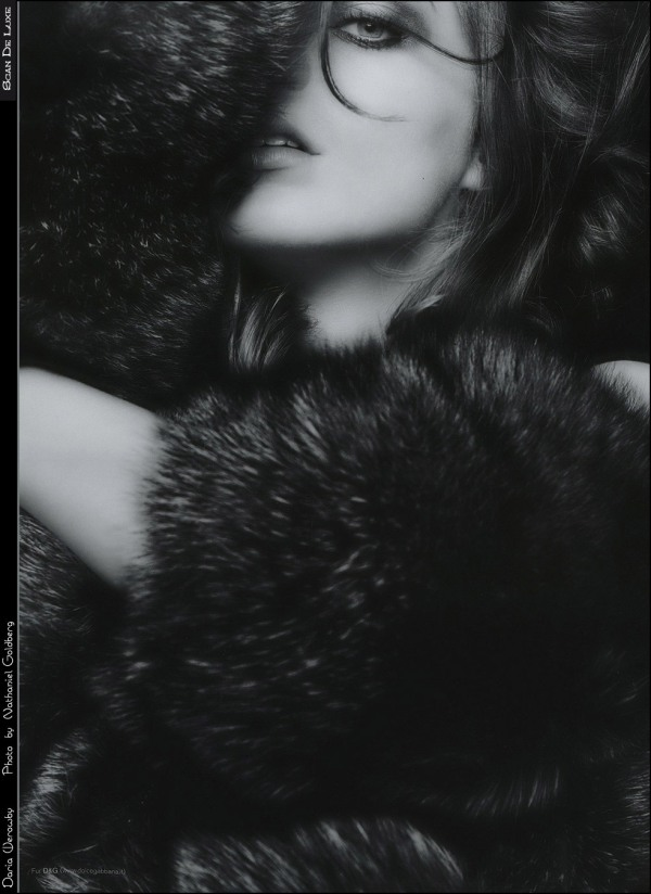 Daria Werbowy by Nathaniel Goldberg V by Visionaire Fall #30 fashion editorial model photographer