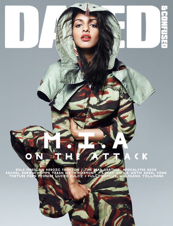 M.I.A by Rankin Dazed & Confused July 2010.