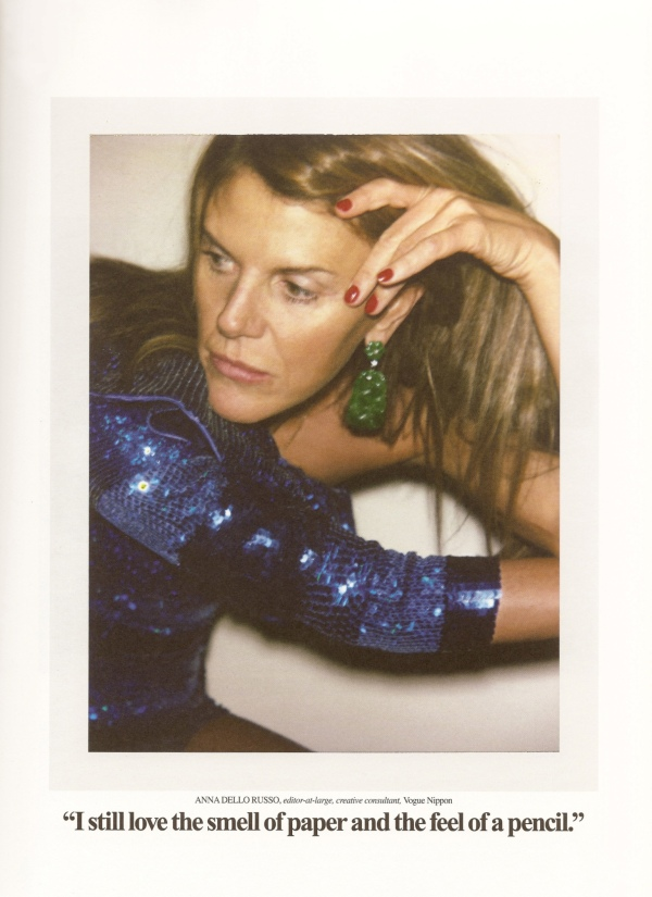 Anna Dello Russo by Ezra Petronio photographer editor at large vogue nippon hey crazy blog fashion editorial