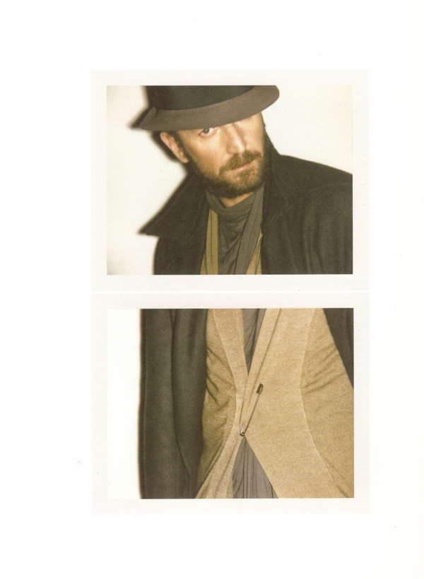 YSL yves saint laurent designer Stefano Pilati by photographer Ezra Petronio fashion editorial hey crazy blog