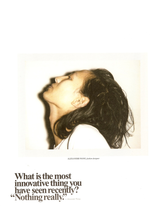 designer Alexander Wang by photographer Ezra Petronio fashion editorial hey crazy blog