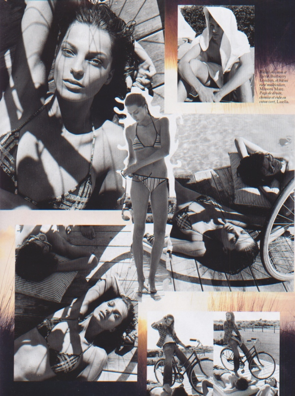 Vogue Paris October - Fin d'ete Mikael Jansson karl templar stylist daria werbowy Julia Stegner model fashion editorial