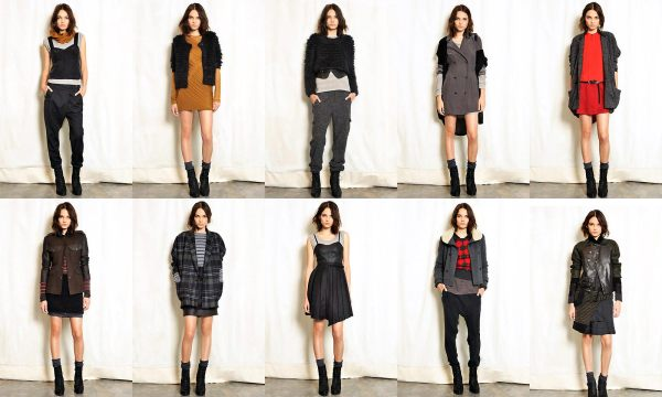Rag & Bone Resort 2011 fashion collection hey crazy