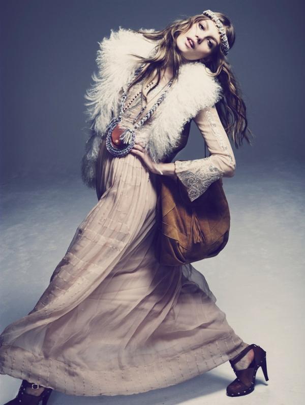 sheep fur shearling trends 2010 fashion