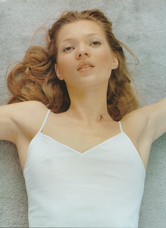 Kate Moss by Corrine Day Vogue Uk Fashion editorial January 1993 under exposure hey crazy