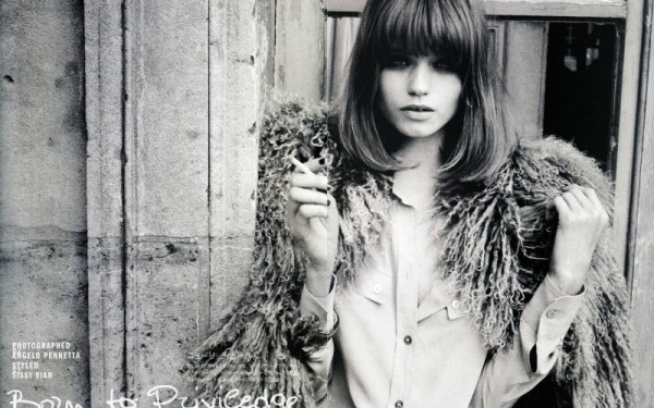 vogue nippon july 2010 sheepfur abbey lee kershaw model fashion editorial shearling trend