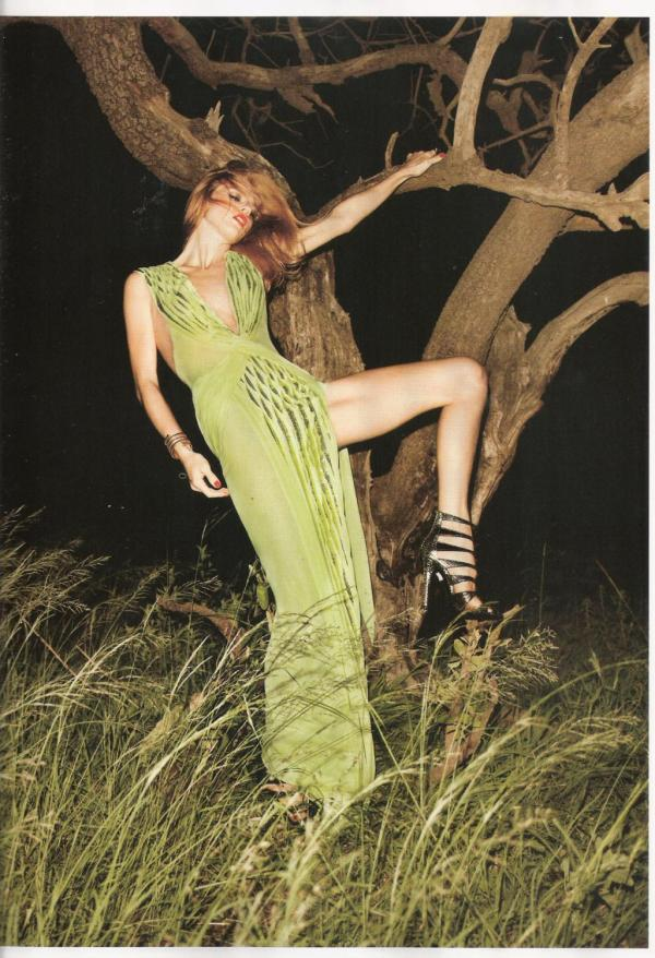 Masha Novoselova by James Macari  Vogue España July 2010 fashion editorial hey crazy