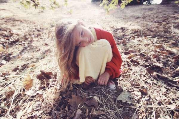 Little Fox Zoe by Kim Gordon Wildfox couture LA models kids fashion style trends 2010