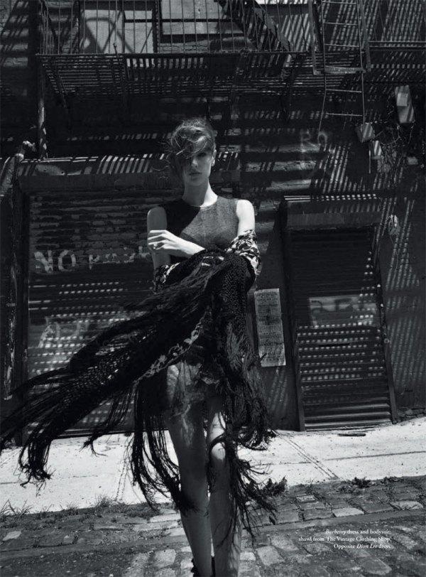 Alessandra Ambrosio by Will Davidson Russh #35 fashion