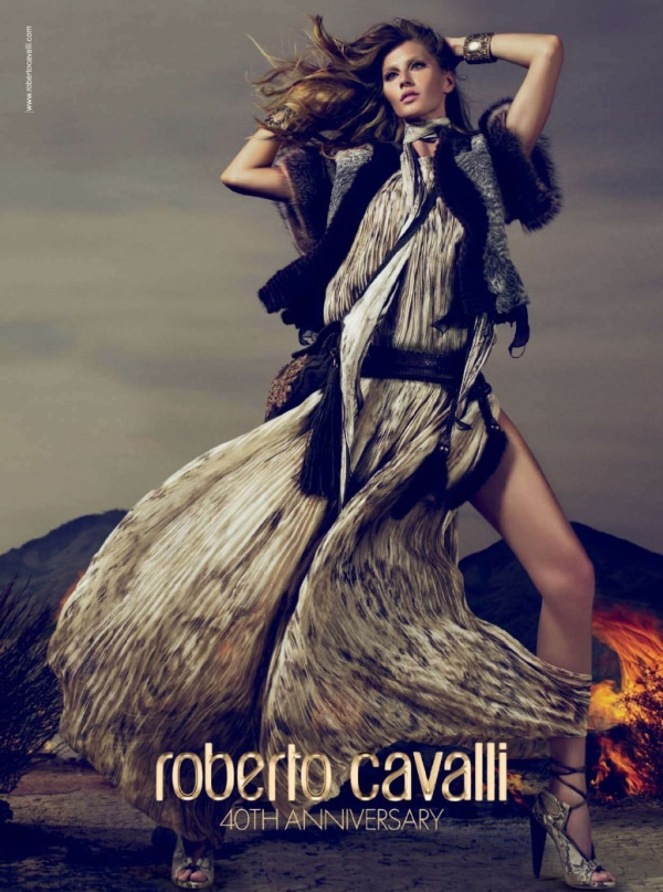 Gisele Bundchen by Mert & Marcus  Roberto Cavalli Fall/Winter 2010-11 advertising campaign, hey crazy blog,