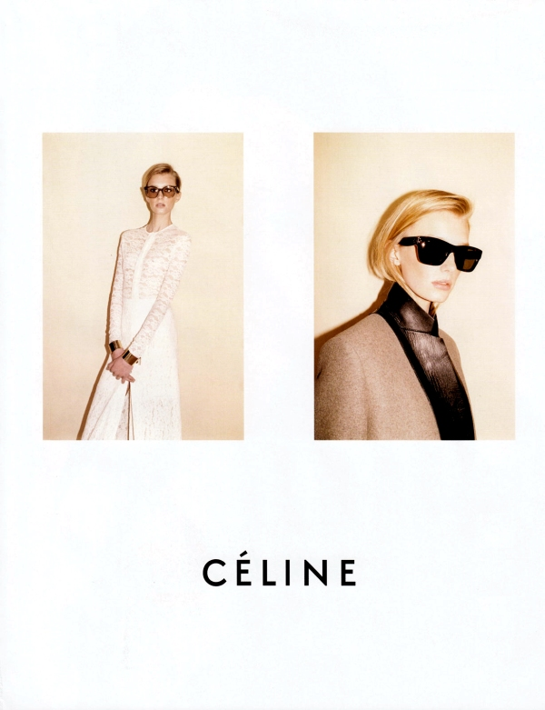 Céline Fall/Winter 2010-11 by Juergen Teller advertising campaign