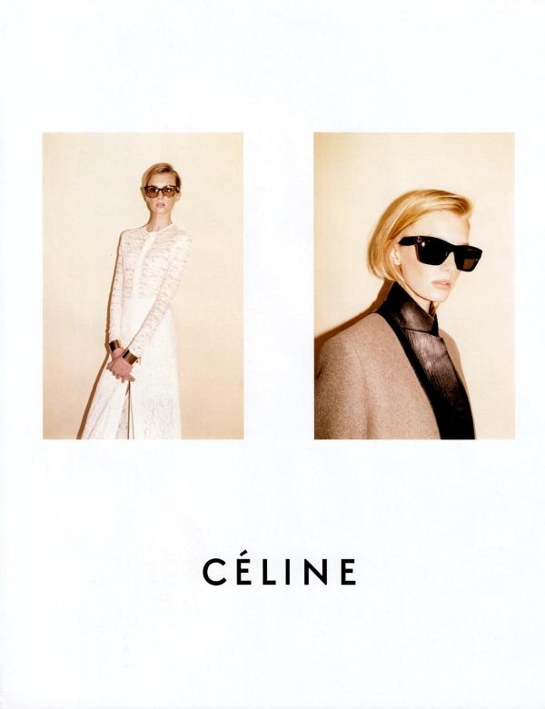 Céline Fall/Winter 2010-11 by Juergen Teller advertising campaign