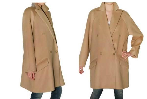 Chloe wool & cashmere coat