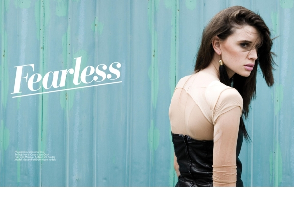 Fearless Alexandra Hoste by Valentina Vos for Glossy #5
