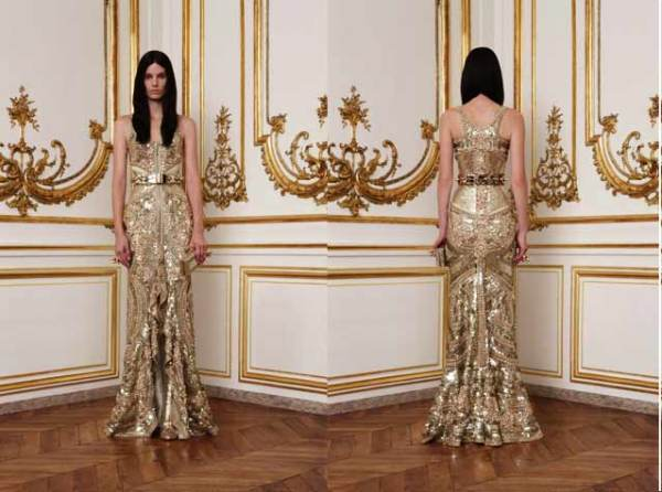 Givenchy Couture Fall/Winter 2010-11 by Riccardo Tisci