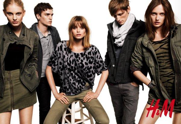 Abbey, Bastiaan, Josh, Karmen and Patricia by Daniel Jackson H&M Divided Fall/Winter 2010-11 campaign fashion