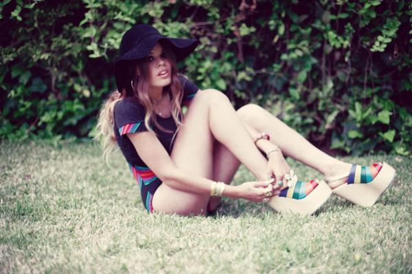 Atlanta de Cadenet, daughter of Duran Duran's John Taylor and photographer Amanda de Cadenet