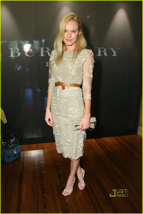 Kate Bosworth @ the launch of Burberry Beauty