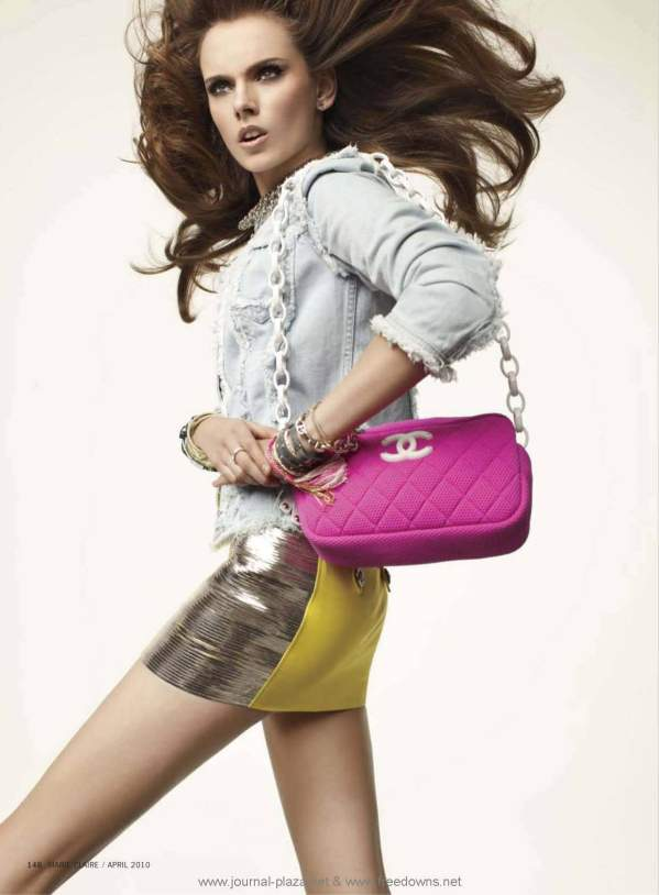 Marie Claire US April 2010 photographer Peggy Sirota stylist Isabel Dupre chanel bag