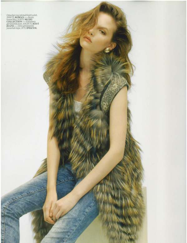 Sara Blomqvist by John Lindquist Vogue Turkey August 2010