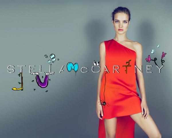 Natalia Vodianova for Stella McCartney Fall 2010 Campaign