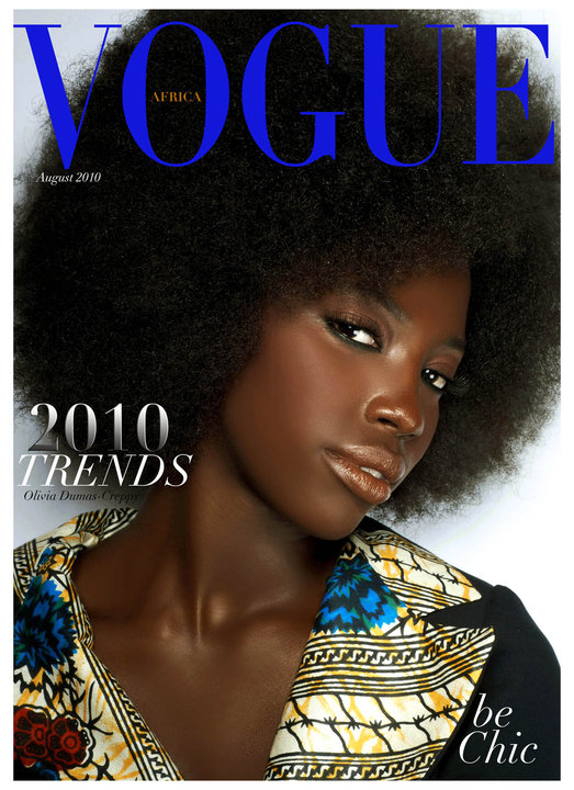 AUGUST 2010 VOGUE AFRICA by MARIO EPANYA