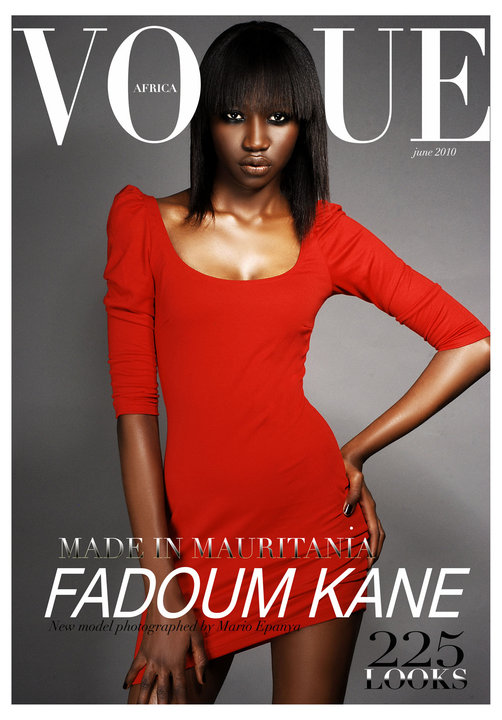 JUNE 2010 VOGUE AFRICA by MARIO EPANYA