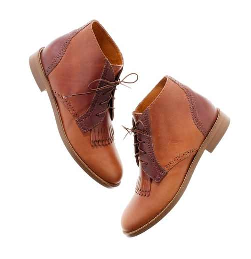 the aberdeen two-tone boot madewell fashion