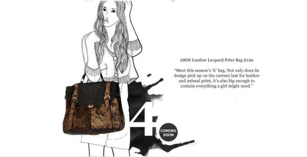 asos leather leopard print bag mulberry alexa tote