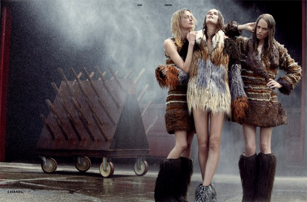 Alley Cats by Will Davidson for Dazed & Confused September 2010 fashion editorial hey crazy blog