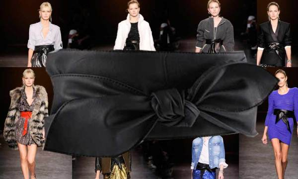 ASOS Wide Ties Obi Belt copy of ISABEL MARANT Wrap-around leather waist belt