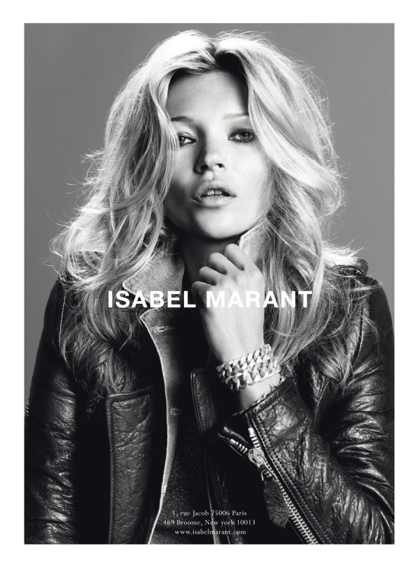 Kate Moss for Isabel Marant F/W 2010 ad campaign