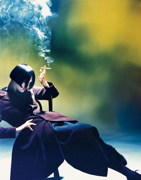 Susie Smoking, Nick Knight, 1988