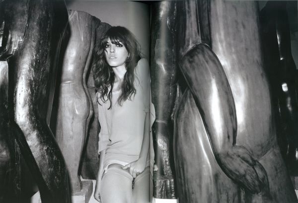 Lou Doillon by Olivier Zahm for DIESEL BLACK GOLD Purple magazine