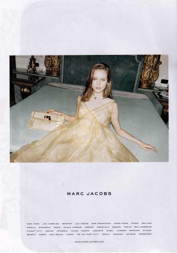 Ann, Frida & Jac by Juergen Teller Marc Jacobs F/W  10.11, winter 2010 advertising campaign