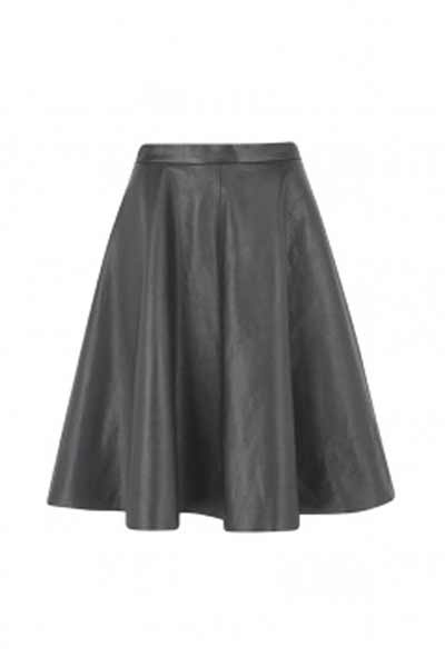 Marks & Spencer leather skirt