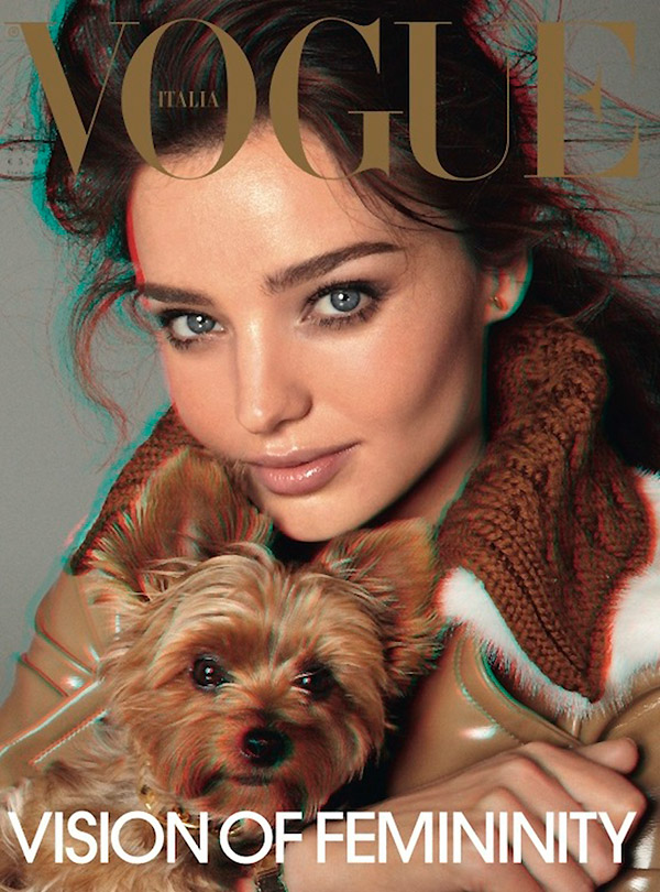 Miranda Kerr by Steven Meisel Vogue Italia September 2010, Vogue cover