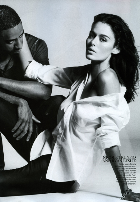 Valerija Erokhina & Riley Turnbull, Jessica Hart & Nicolas Potts, Pania Rose & Thaddeus Taylor-O'Neil, Sarah Stephens & Matt Egan, Nicole Trunfio & Ryan Leslie, Alexandra Egoston & Jordon Redaelli and Elyse Taylor & Nicky Piscitelli All photographed by Lincoln Pilcher Vogue Australia October 2010