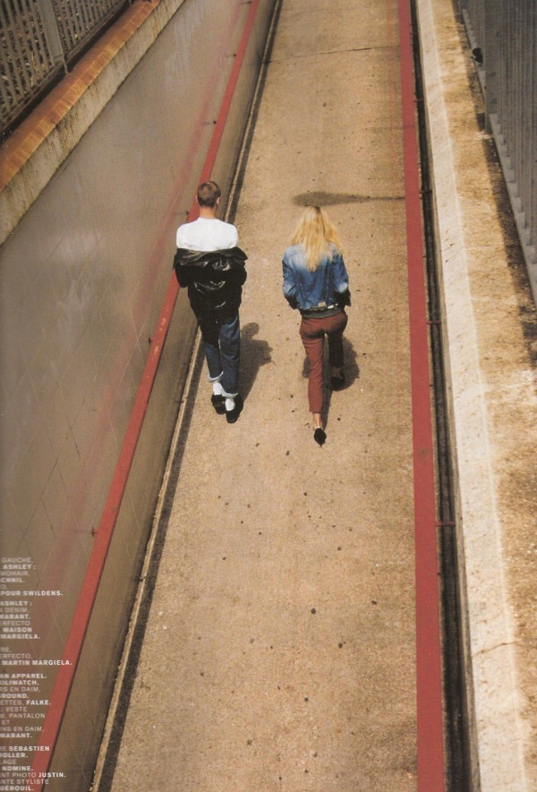 Ashley Smith & Yuri Pleskun by Edouard Plongeon Jalouse September 2010