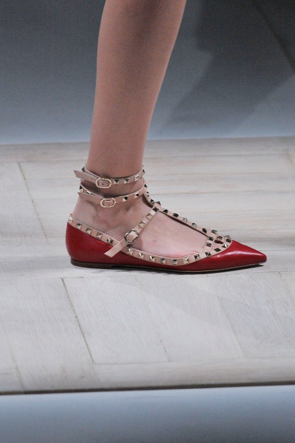 Valentino Autumn/Winter 2010 studded flats