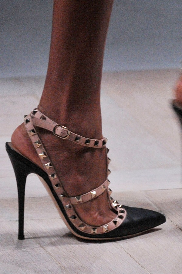 Valentino Autumn/Winter 2010 studded heels