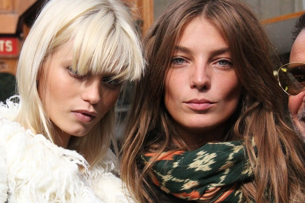 Daria Werbowy and Abbey Lee Kershaw, fashion models