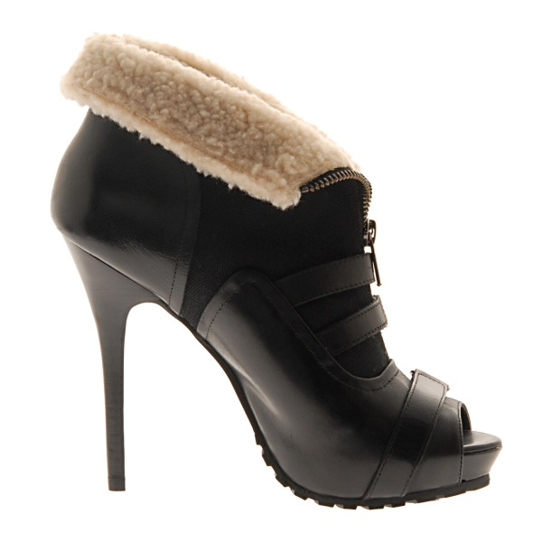 Aldo Winter 2010 Collection black ratkocich boots alexander mcqueen