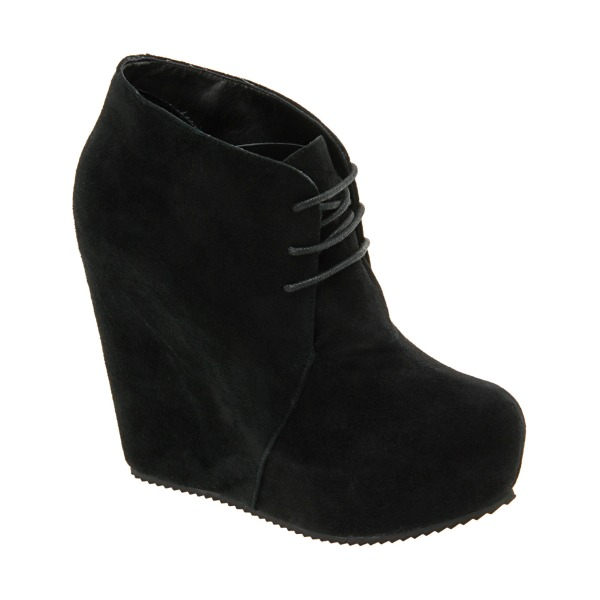 Aldo Winter 2010 Collection black sandidge boots acne