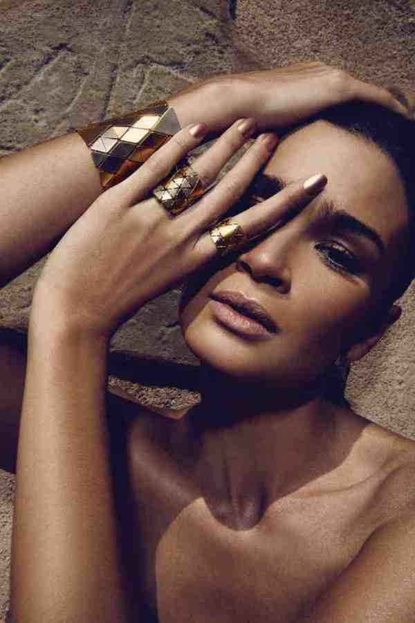 Caroline Ribeiro by Renam Christofoletti in H. Stern Vogue Brazil October 2010