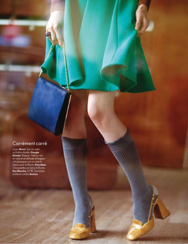 Esme by Maria Dawlat ELLE Belgique October 10 2010  fashion editorial womens daywear