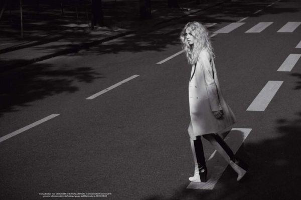 Kirby Kenny by Stefania Paperelli  Grey Issue III Fall/Winter 2010 fashion editorial