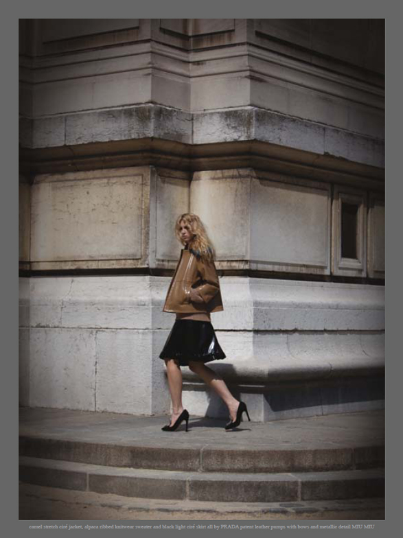 fashion model twin Kirby Kenny by Stefania Paperelli  Grey Issue III Fall/Winter 2010 fashion editorial