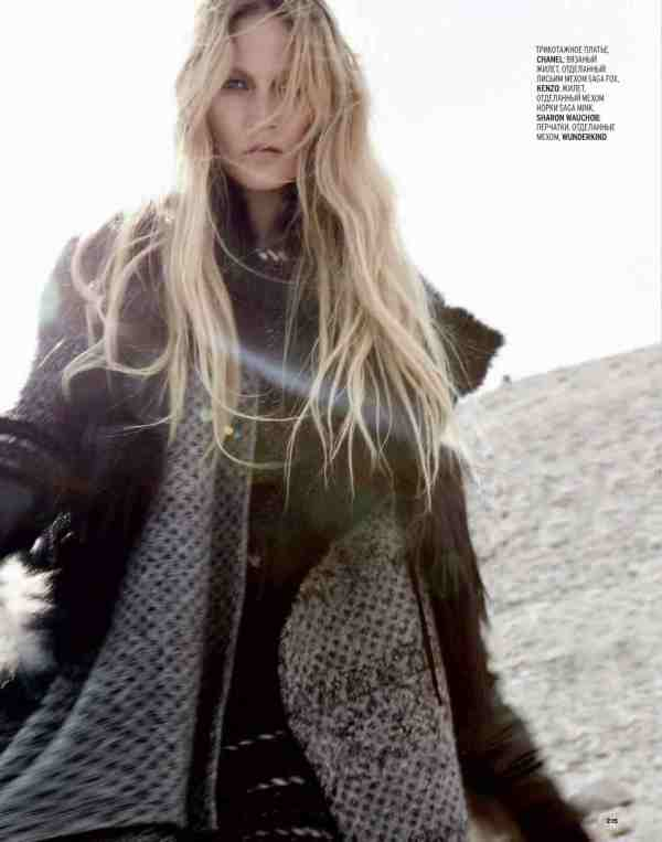 Kori Richardson by Thierry le Goues Marie Claire Russia October 2010 fashion editorial winter trends