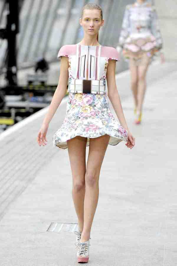 Mary Katrantzou Spring/Summer 2011 london fashion week new generation designers
